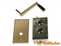 MC Rollladen! Seilgewinde, incl. Gehäuse, B40 (Maße (mm) 111 x 72 x 44mm)