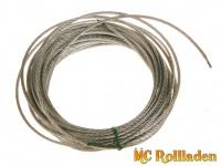 MC Rollladen! Drahtseil für Seilwinde ( 9 m lang) , stärke 3 mm