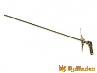 MC Rollladen! Gelenklager, 6mm Vierkant 45°