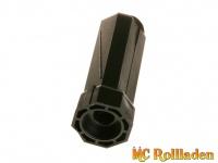 MC Rollladen! Mini-Wellenkapsel SW 40 mit Gurtscheibenaufnahme mit Kugellageraufnahme