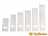 MC Rollladen! Deckplatte Standard aus Kunststoff, Weiß